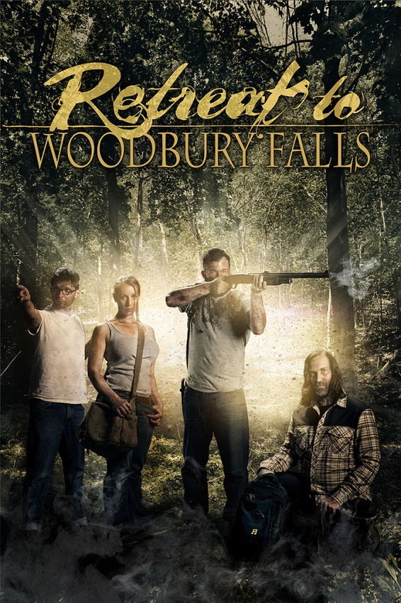 Retreat To Woodbury Falls Poster